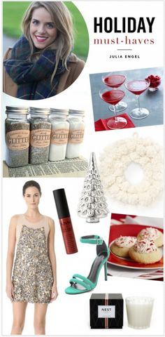 Holiday Must-Haves with The Glitter Guide #holiday #christmas