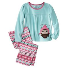 Just One You® by Carter's® Infant Toddler Girls' Pajama Set - Turquoise/Pink