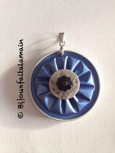 jewelry tutorial for pendant with nespresso capsule ♥