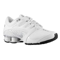 34f789e016b54 Nike Womens Shox Vaeda White Metallic Silver Black Synthetic Running Shoes  9 W US    To view further for this item