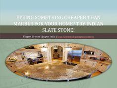 Eyeing something cheaper than #marble for your home @ http://www.slideshare.net/elegantjpr51/eyeing-something-cheaper-than-marble-for-your-home via http://www.elegantgranites.com/slates-stone.html #IndianSlateStone