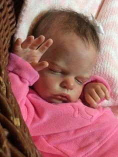 Lifelike Girl Doll Baby Anastasia By Olga Auer Reborn