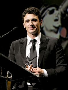 "AWARD WINNER  A proud James Franco accepts his award for outstanding performance of the year at the Santa Barbara International Film Festival on Jan. 29. At the fest, the 127 Hours actor candidly talked about the first time he met his agent. ""I didn't even have a headshot,"" he recalled. ""I had like, a photo of me in my car."""