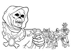 Pin by WaltorGrayskull on COLORING BOOK PAGES of the MOTUPOP