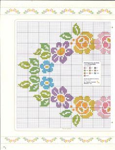 Cross Stitch Rose, Cross Stitch Borders, Cross Stitch Flowers, Cross Stitch Designs, Cross Stitch Patterns, Beaded Embroidery, Cross Stitch Embroidery, Machine Embroidery, Seed Bead Flowers