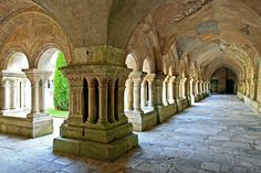 Abbaye de Fontenay, France - Burgundy