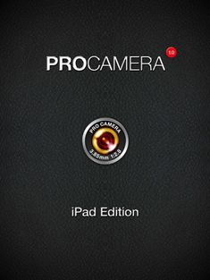 Read our latest tutorial this time with ProCamera HD - the first serious iPad camera app - check it out now!