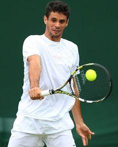Blog Esportivo do Suíço:  Rogerinho dá trabalho a Almagro, mas cai na estreia em Wimbledon
