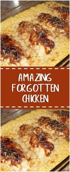 AMAZING FORGOTTEN CHICKEN – Fresh Family Recipes