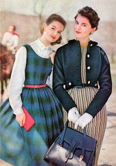 Simplicity Pattern Book 1957 Fall/Winter #50s #fashion #Sewcratic