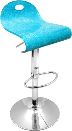 Furniture | Bar Stools II | Turquoise Shimmer Barstool
