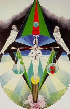 VIII. Justice - Via Tarot by Susan Jameson, John Bonner