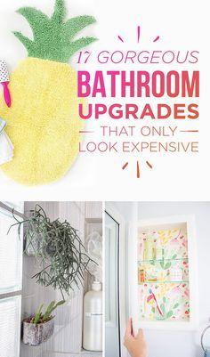 17 Gorgeous Bathroom Upgrades That Only Look Expensive