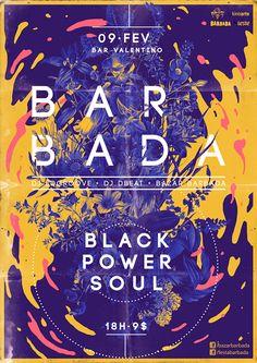 Poster para el festival Barbada https://www.behance.net/gallery/7819939/Barbada