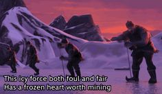 Frozen's Opening Song Predicts the Whole Movie - I CALLED IT LAST YEAR.