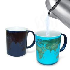 Day to Night Heat Sensitive / Color Changing Mug