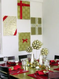 Deck Your Walls With These Interesting Christmas Wall Decorations Ideas    Christmas Celebrations