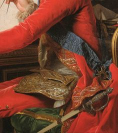Detail from Portrait of King Gustav III of Sweden and his Brothers by Alexander Roslin