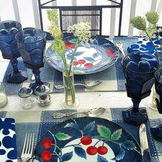 Lunchtime Apaixonada por esses pratos com cerejas da mesa dehellip