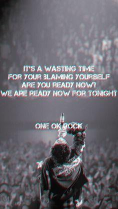 One Ok Rock 壁紙, One Ok Rock Lyrics, Takahiro Moriuchi, Rock Quotes, Rock Music, Future Husband, Rock Bands, Clock, Wallpapers