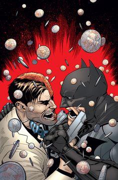 Batman vs Two-Face by Patrick Gleason