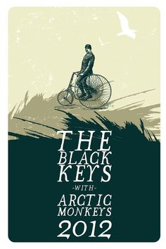 The Black Keys with Arctic Monkeys. Jon E Allen.