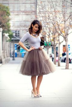 Would it be weird if I wore a tulle skirt on Sunday of the convention? I know it's early to be thinking about that already....