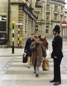 PC Mohammed Shafiq on duty in the mid 1970s. Known to all as Mo, he joined Lancashire Constabulary on February 8, 1973. He joined Greater Manchester Police as part of the amalgamation of forces in 1974. He was the first non-white officer to serve in either Force. He served the public for 31-years before retiring at the rank of detective inspector in 2004. He was awarded the Queen's Police Medal (QPM) in 2005. www.gmp.police.uk