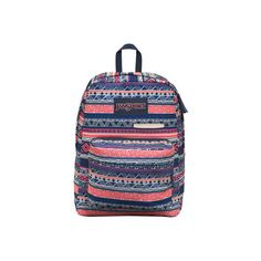 JanSport Digibreak Backpack ($42) ❤ liked on Polyvore featuring bags, backpacks, rucksack bags, blue bag, jansport rucksack, jansport backpack and backpack laptop bags