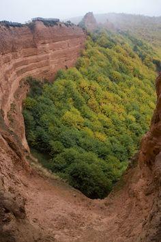 Antiga mina a céu aberto em Leão é património da Humanidade, e aceita alargar essa protecção ao complexo mineiro de Vila Pouca de Aguiar.