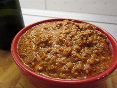 Eredeti bolognai szósz - Nemzeti ételek, receptek