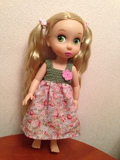 Doll clothes / Disney animator doll Rapunzel