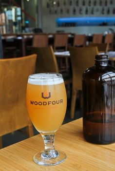 Woodfour Brewing Company in Sebastopol, California - The Culinary Cellar