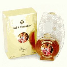 Bal a Versailles perfume.  Traditional French perfume with over 350 rare essences.  Blend of amber, floral and spice.