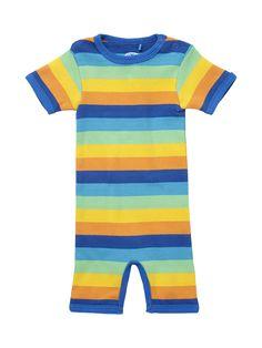 ej sikke lej Organic Striped Beach Suit