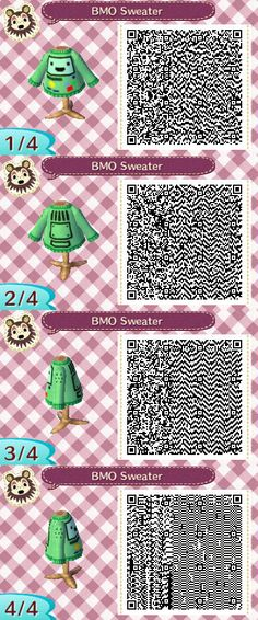 BMO sweater QR cose
