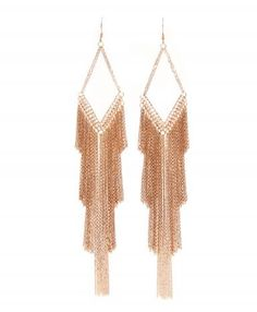 Marie-Laure Chamorel pink gold #earrings #AccessorieCircuit