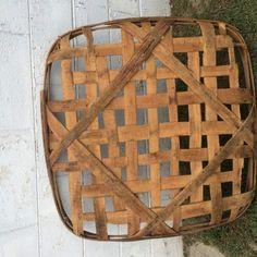 Vintage-Tabacco-Basket Tobacco Basket, Remodeling, Primitive, Baskets, Bathrooms, Decorating Ideas, Tray, Country, Antiques