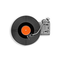 Hi Fidelity Enamel Pin by YesterdaysCo on Etsy https://www.etsy.com/listing/265033241/hi-fidelity-enamel-pin