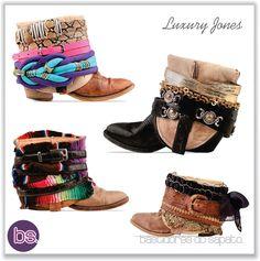 Bastidores do Sapato: Botas Customizadas