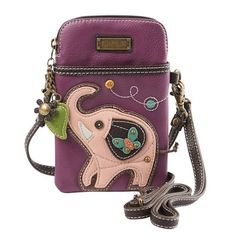 Chala Colorful Critters Three-in-one Crossbody Bags - Elephant Source by whatonearthcatalog and purses crossbody Waist Pouch, Leather Bags Handmade, Leather Craft, Crossbody Wallet, Purses And Bags, Red Purses, Shoulder Bag, Colorful, Cheap Handbags