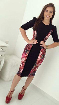 #modamodestaclassica #bembasiquinha #migasualoucaarrasou #lindasemservulgar #flordojardimdeDeus #lacretotal #pisamenos #inspiracaomaravilhosa #paratudoqueelavaipassar #temcomonaoamar #LookFechaçao #Top #poderosasim #elaélindaela Casual Dresses, Fashion Dresses, Prom Dresses, Bella Beauty, Trend Fashion, Ankara, Work Wear, My Style, How To Wear