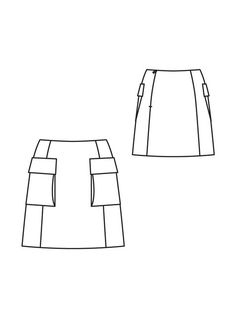 how to make a mini skirt pattern