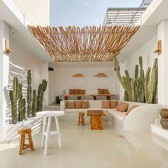 Exterior Design, Interior And Exterior, Outdoor Spaces, Outdoor Living, Bohemian Patio, Beach House Decor, Home Decor, The Design Files, Backyard Patio
