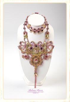 Social Butterfly Jewellery Design: Battle of the Beadsmith 2012 - Arabesque Armour. Melissa Ingram