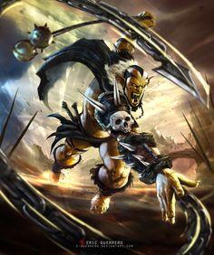 SECTUM - ORC by e-guerrero on deviantART