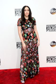 Actress Noah Cyrus attends the 2016 American Music Awards at Microsoft Theater on November 20, 2016 in Los Angeles, California.