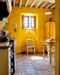 italian rustic decor | ... Italian Cottage Kitchen Rustic Design Tile Floor ~ cupersia.com Villa