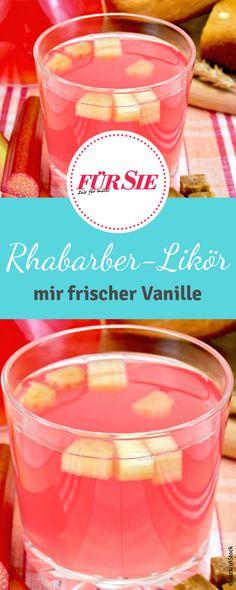 Erfrischend anders! Unser Rezept für fruchtigen Rhabarber-Likör ist ein Hingucker! Das Rezept für den Rhabarber-Likör findet ihr bei uns!