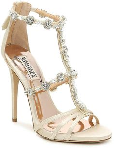 938270880d Badgley Mischka Thelma Sandal - Women's Show off this luxe take on a  beautiful dress sandal